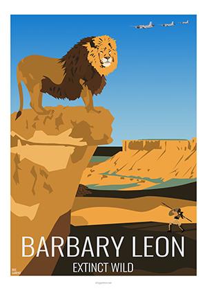 Eric Garence artiste Niçois Barbary Lion Wildlife Gladiator WWF Kids Huamn Greenpeace Fondation Brigitte Bardot